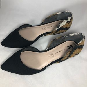 BC pointed flats